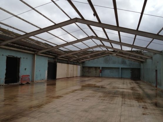 Environmental Clean and Removal of Double Skin Asbestos Cement Roof Cladding